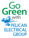 Go Green with Pelican Electrical Group